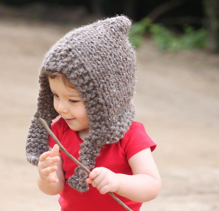 Woodland Hood Knitting Pattern