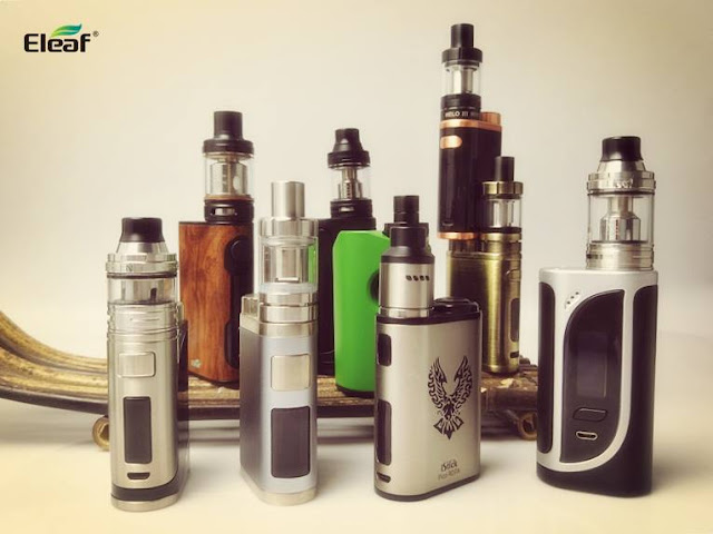 A Big Eleaf Box Mods Fam, have a look