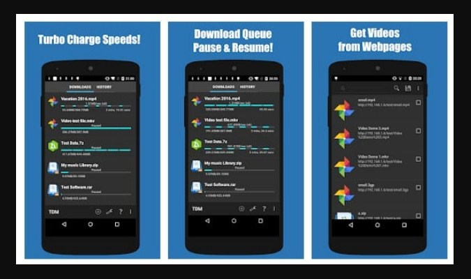 Aplikasi Download Manager Android - Turbo Download Manager