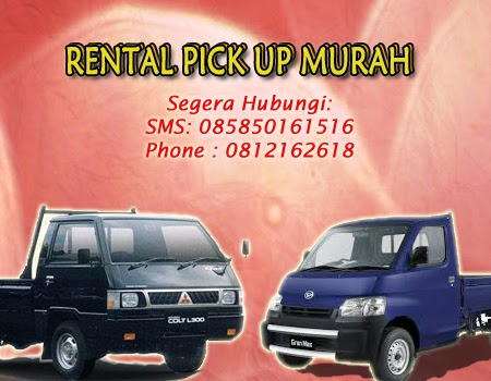 Rental Pick Up Murah di Surabaya