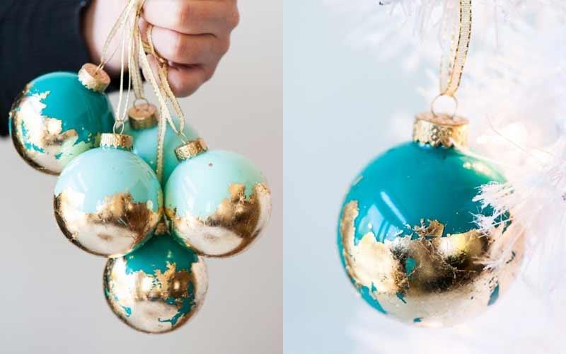 DIY ของตกแต่งต้นคริสต์มาส