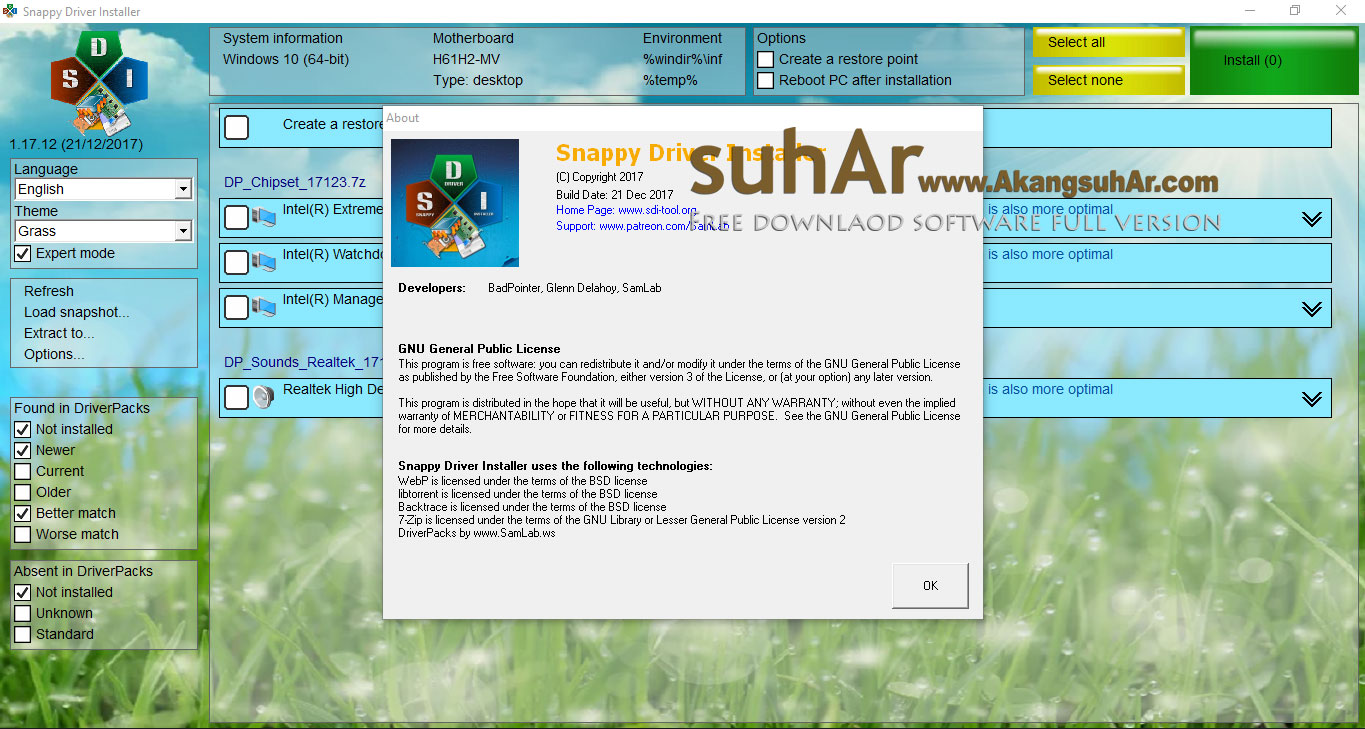 Free Download Snappy Driver Installer Original Iso Multilingual, Snappy Driver Installer Latest Version