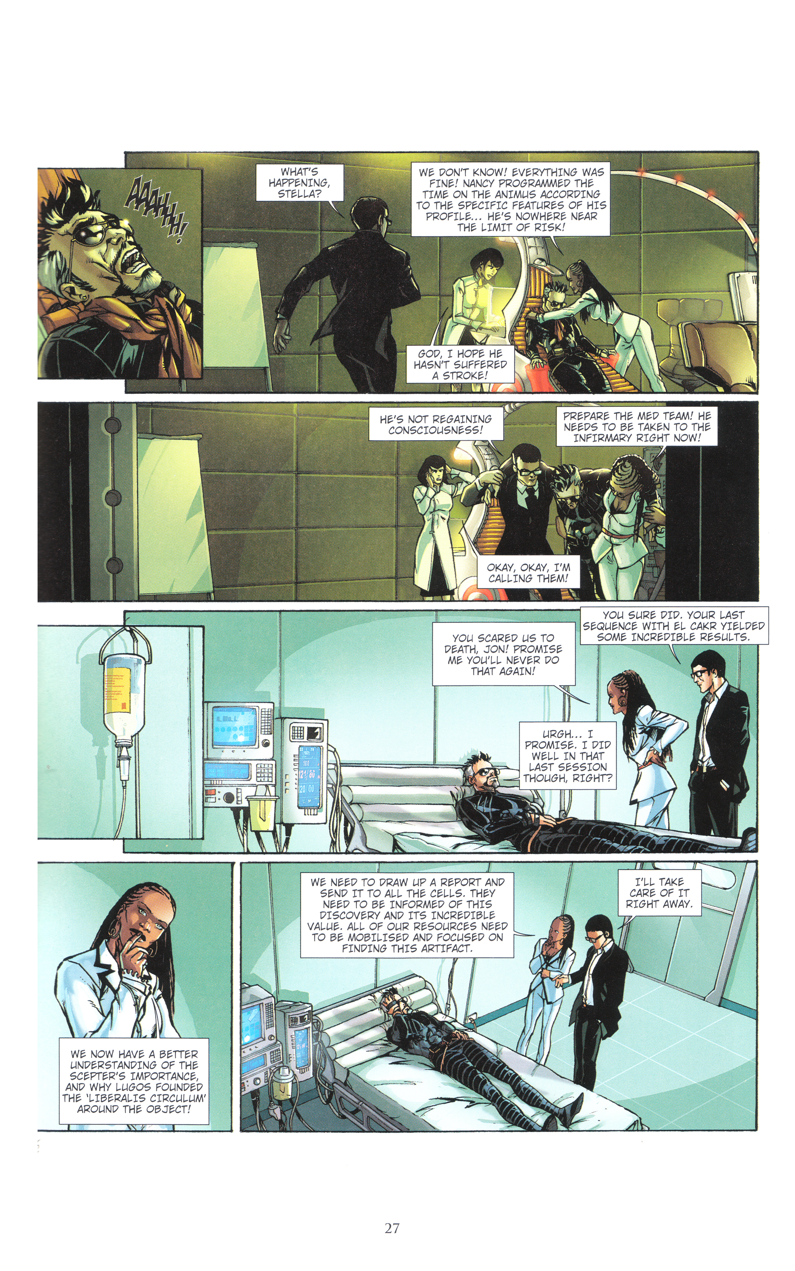 Read online Assassin's Creed (2012) comic -  Issue #4 - 27