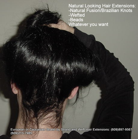 natural fusion strand by strand hair extensions