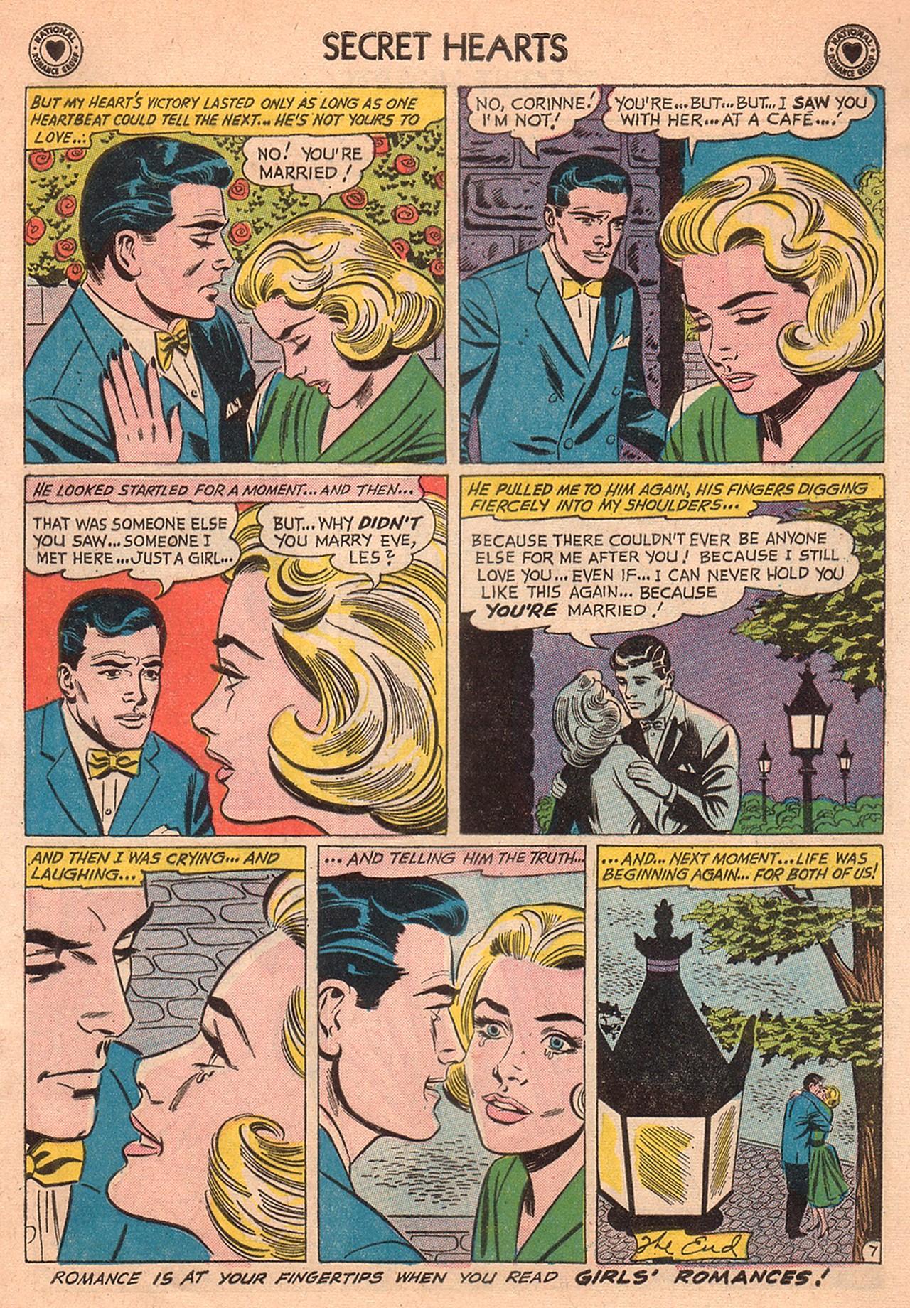 Read online Secret Hearts comic -  Issue #74 - 17