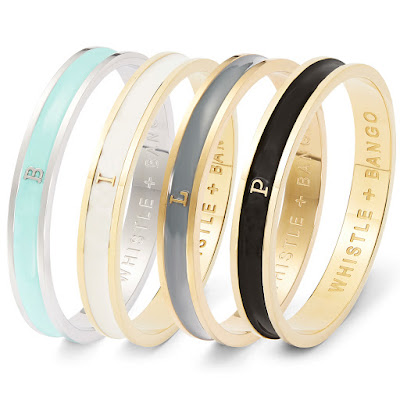 Personalized Initial Bangles By Florence London Jpg