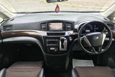Interior New Nissan Elgrand E52 Prefacelift