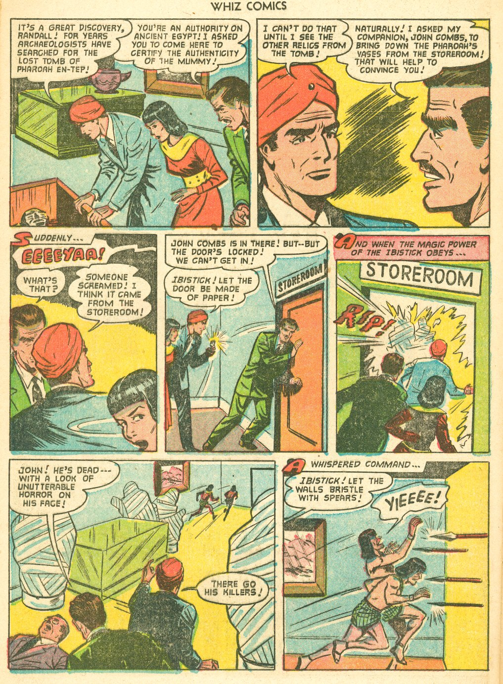 WHIZ Comics #155 #156 - English 24