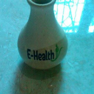 botol ceramic keramik massage oil