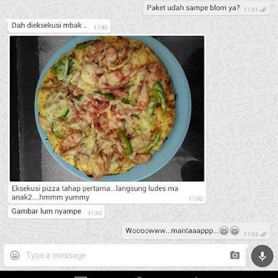 pizza buatan sendiri yang disukai keluarga