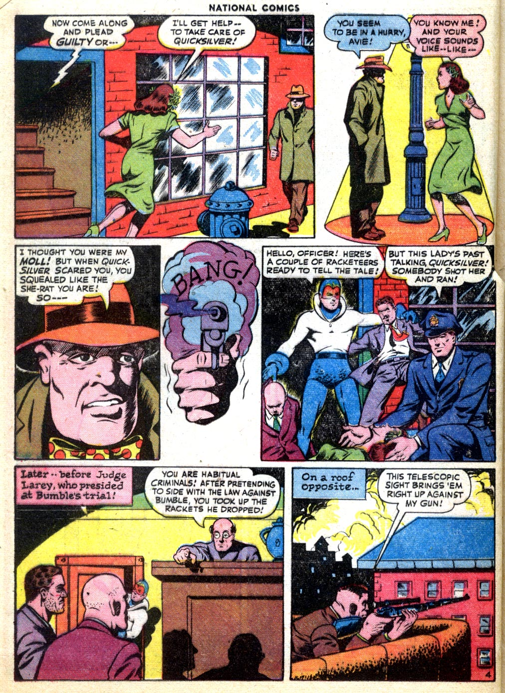 National Comics (1940) issue 47 - Page 40