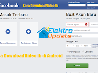 Cara Download Video Dari Facebook di Android Tanpa Aplikasi