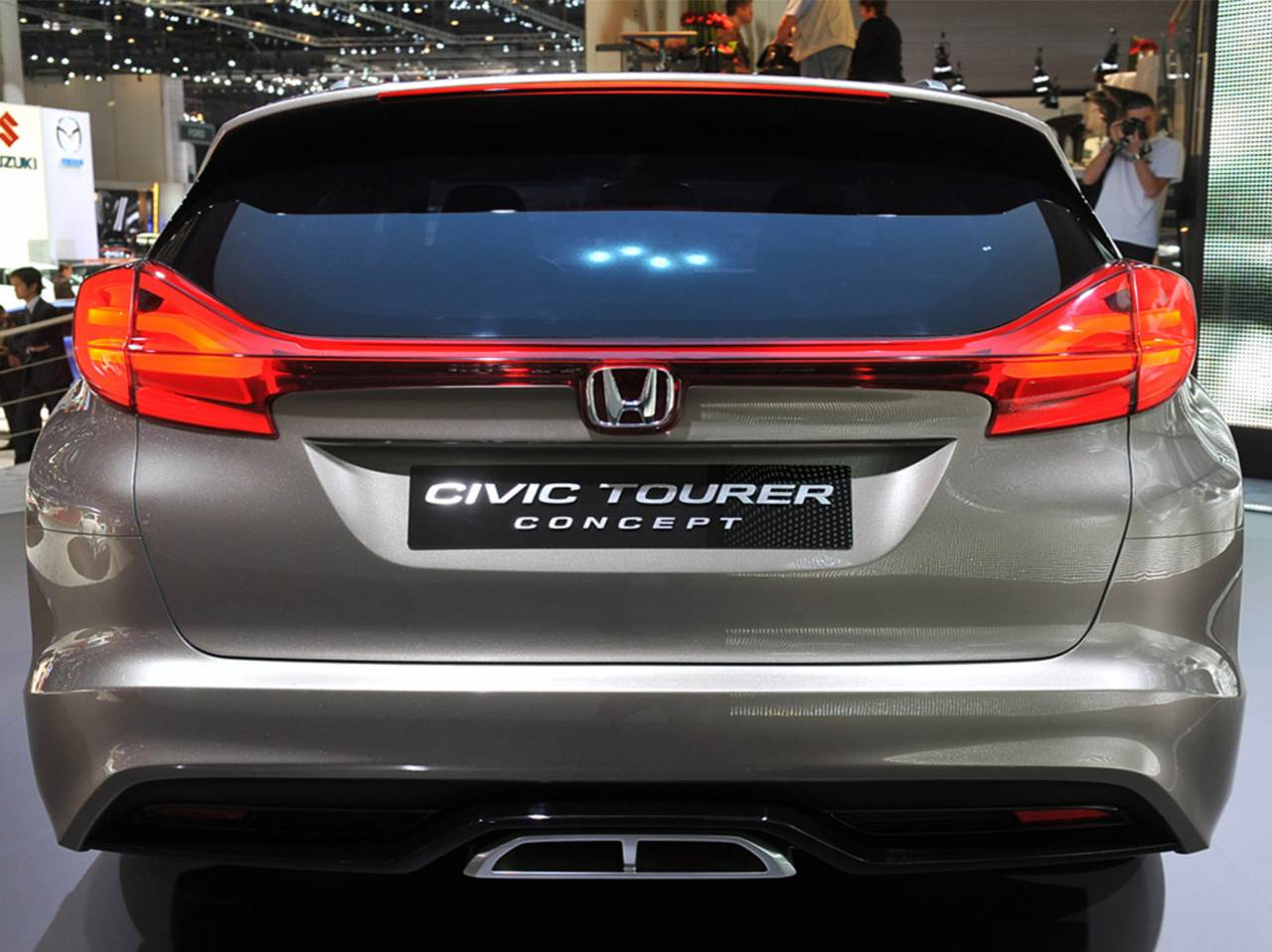 Captivating 2014 Honda Civic Tourer