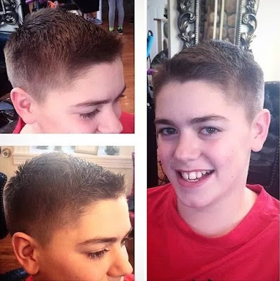 Traditional Brush-Cut Hairstyle