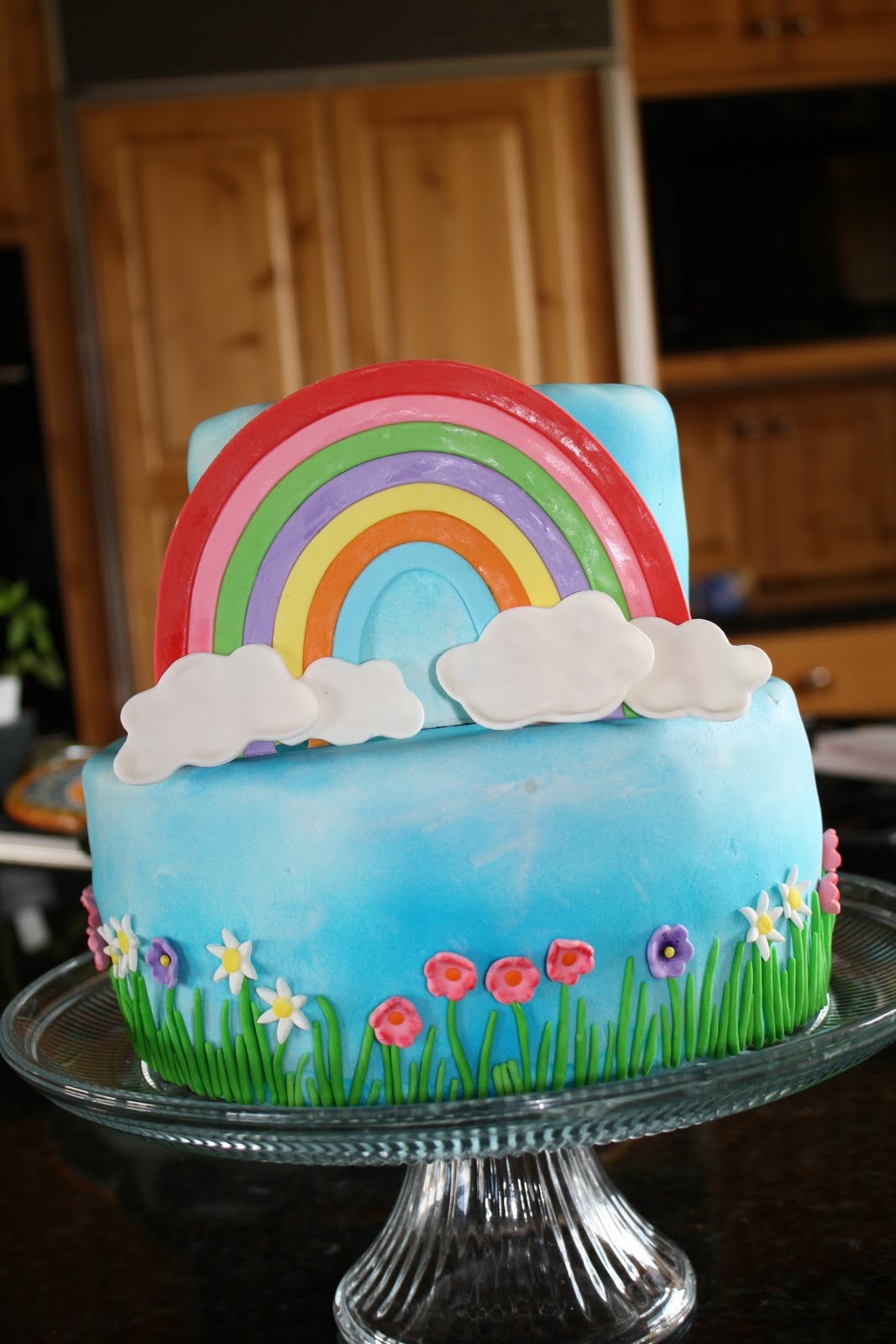 Michelle S Cakes Cookies And Cupcakes Over The Rainbow