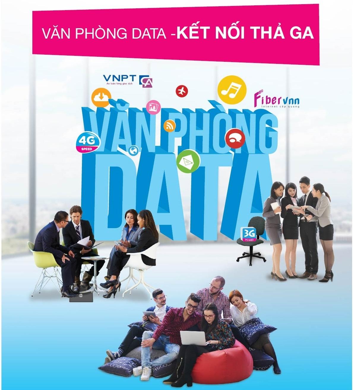 Đăng ký Internet VNPT tặng sim VinaPhone gọi miễn phí cho Doanh nghiệp