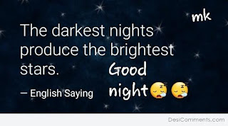 good night wish with great lines