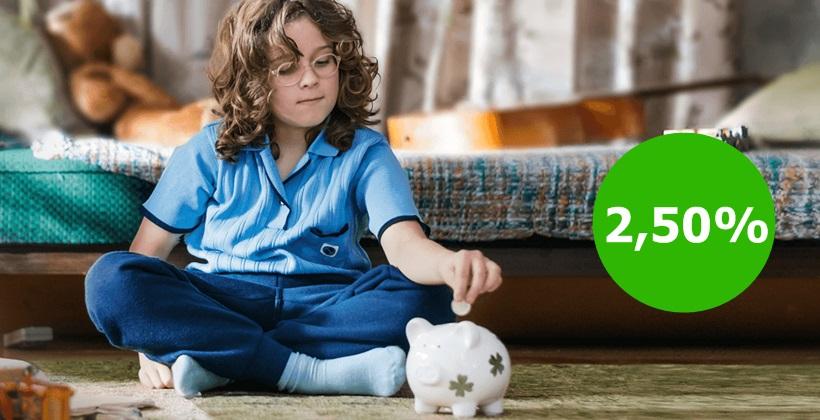 2,50% dla nowych środków na koncie oszczędnościowym Getin Banku