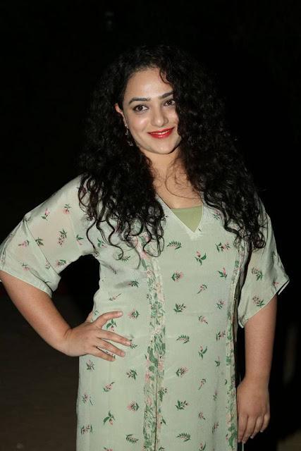 Nithya Menen Stills At Awe Movie Pre Release Event