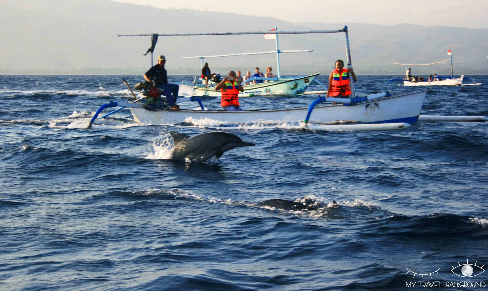 My Travel Background : que visiter dans le Nord de Bali? Dauphins à Lovina