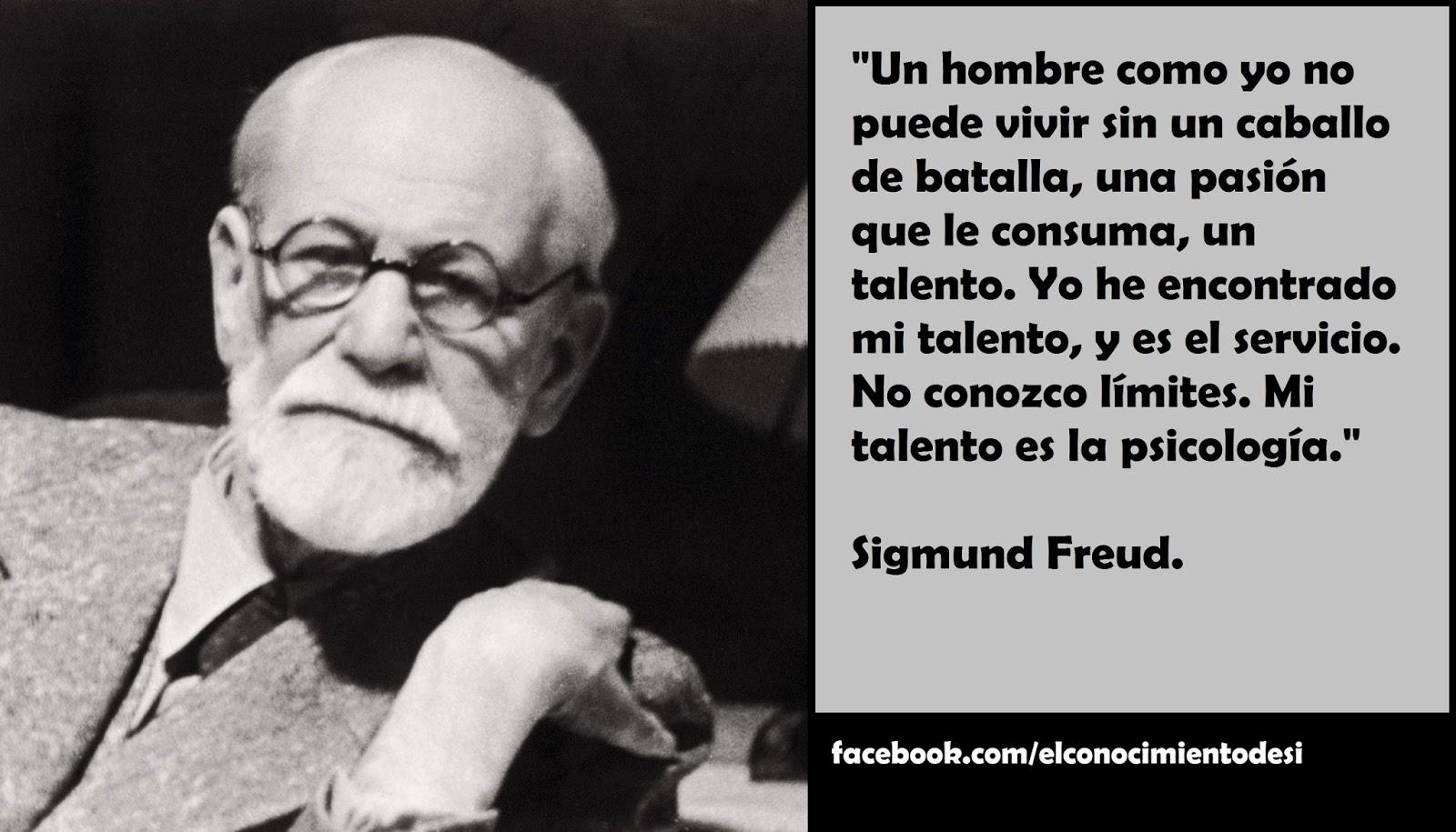"""Frases De Freud Psicologia: Cultura Psicológica: Sigmund Freud: """"Mi Talento Es La"""