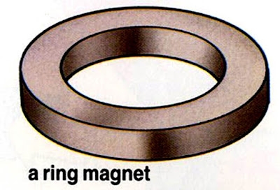 A ring magnet