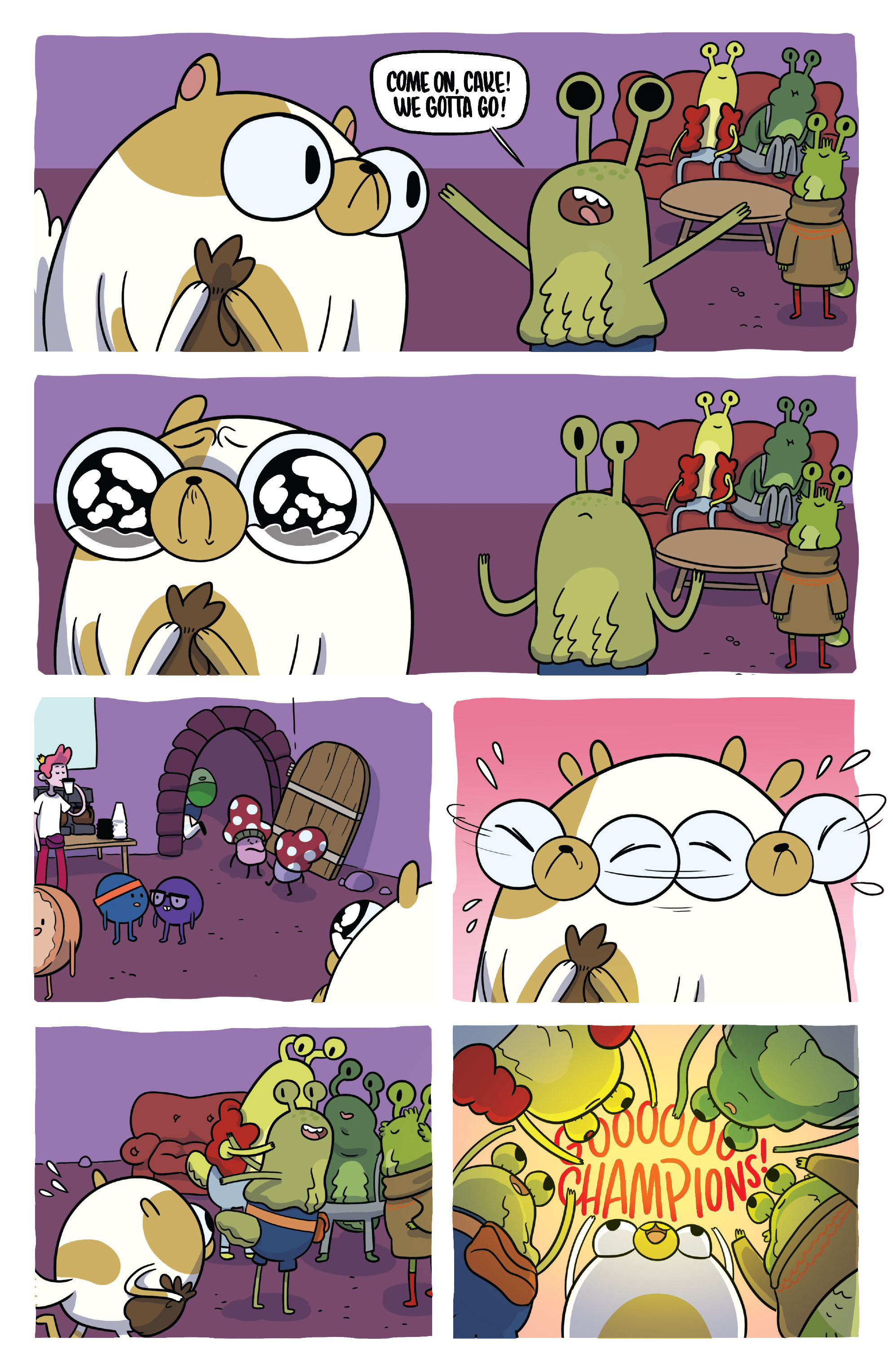 Read online Adventure Time Fionna and Cake Card Wars comic -  Issue #4 - 15