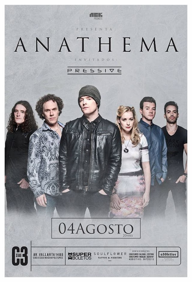 ANATHEMA 04 AGOSTO  C3 STAGE