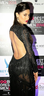 Nargis Fakhri Open Back Design