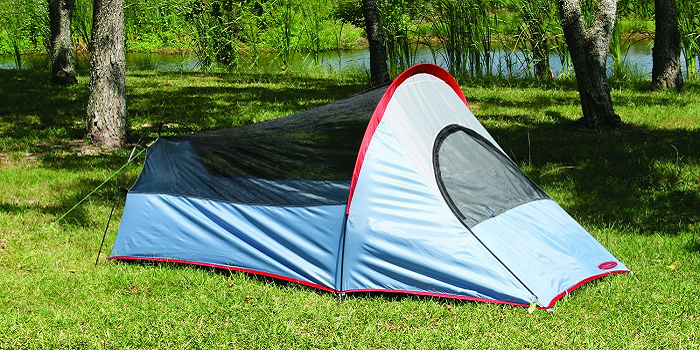 2-person Shelter Tent u2022 Polyurethane coating u2022 Polyester taffeta walls and taffeta fly with silver coating gives increased UV protection and cool comfort & Top 10 Best Camping Tents Under $50 | TechCinema