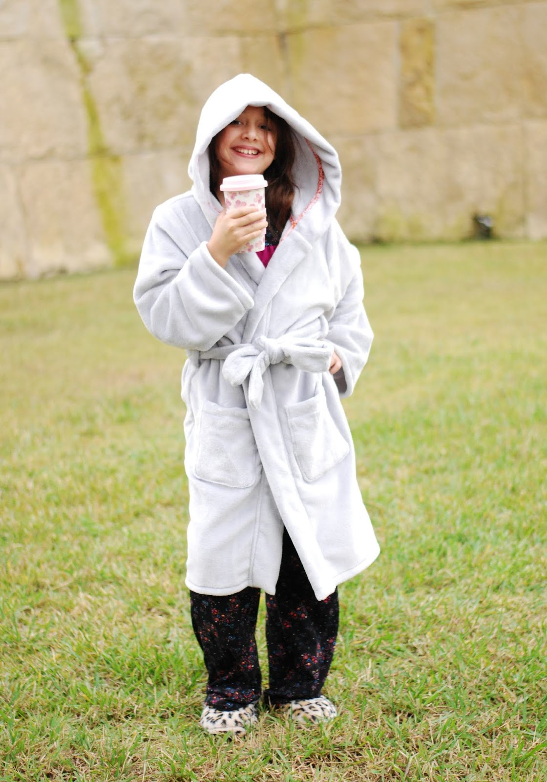 Sofiona Designs: the Starry Night PJs and the Arctic Fox Housecoat