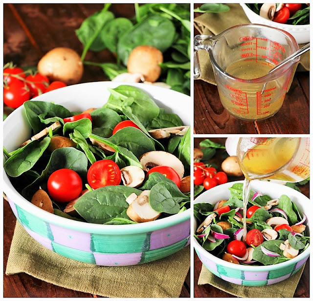 How to Make Wilted Spinach Salad Image