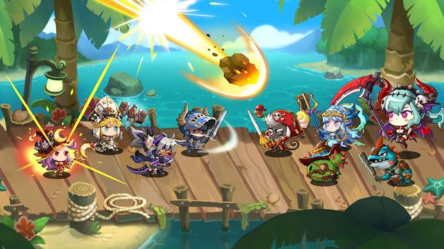 Netmarbles rilis Epic Saga, games RPG dengan kerakter hero super imut dan penuh petualangan lucu