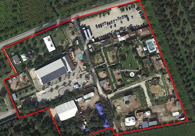Mappa dall'alto Zoo d'Abruzzo