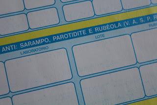 Nome da vacina do sarampo - VASPR - MMR