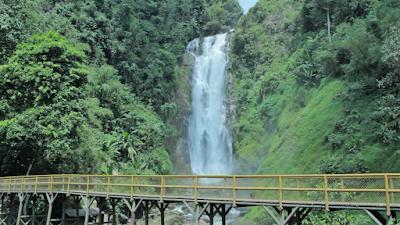 Air terjun Curup Tenang, Bedegung - Sumateera Selatan