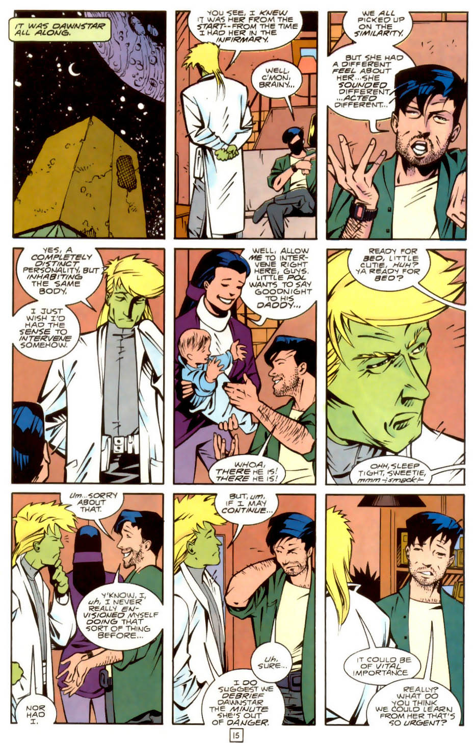 Legion of Super-Heroes (1989) 36 Page 15