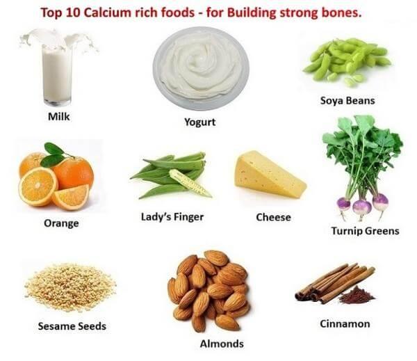 Makanan tinggi Kalsium