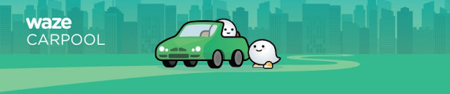 waze carpool logo
