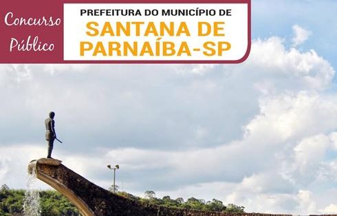 concurso - Edital e Inscrição Prefeitura de Santana de Parnaíba 2018