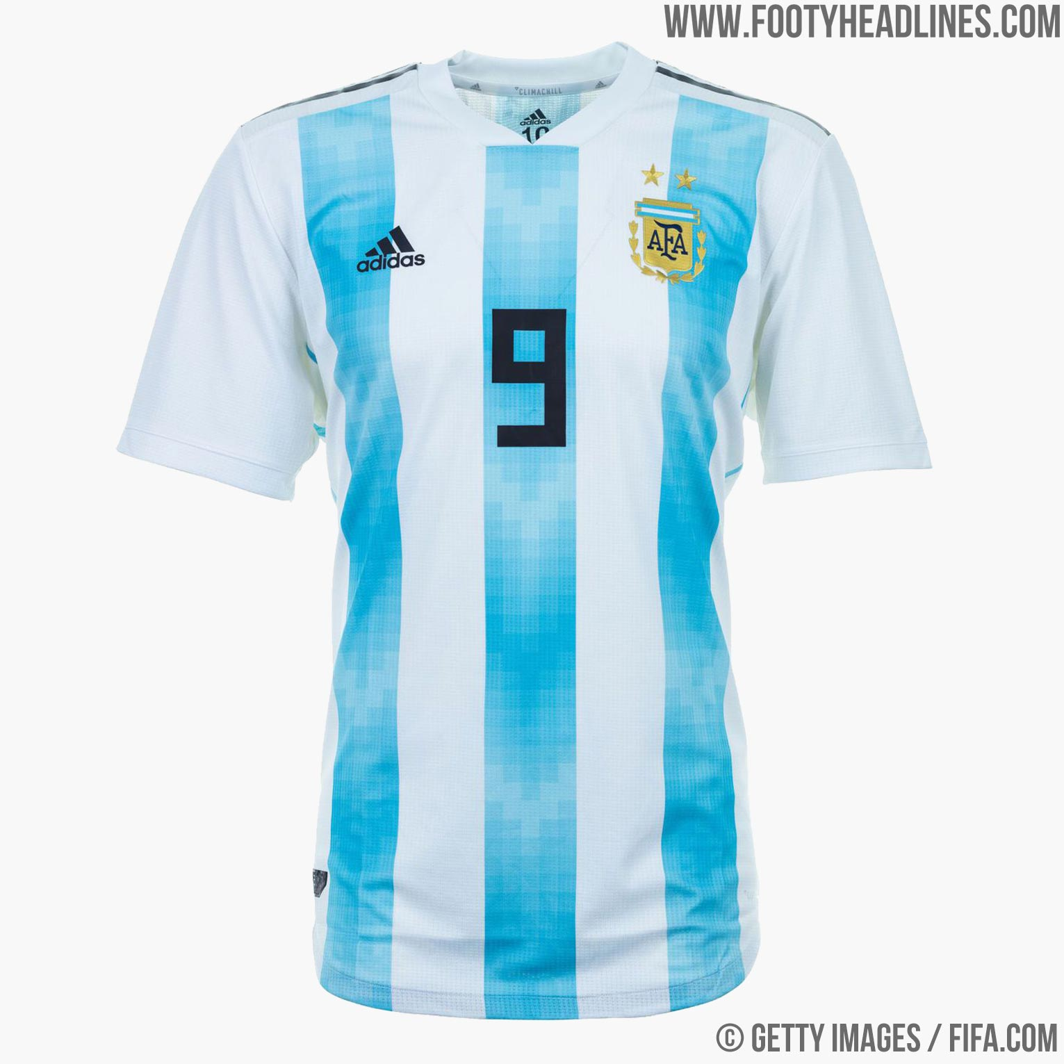 8938aae05 Argentina 2018 World Cup Home Kit Buy now. Free worldwide delivery on all  orders