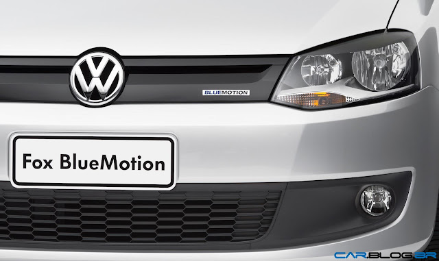 VW Fox Bluemotion 2013 - grade dianteira