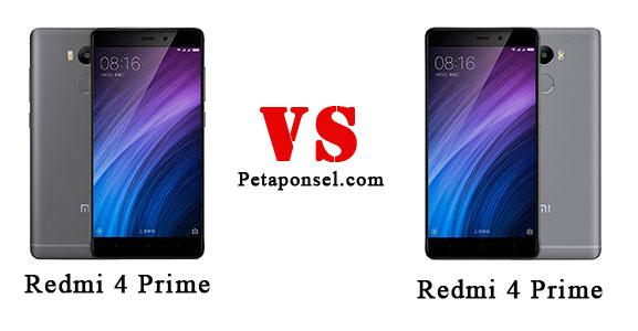 Perbandingan Redmi 4 dan 4 Prime