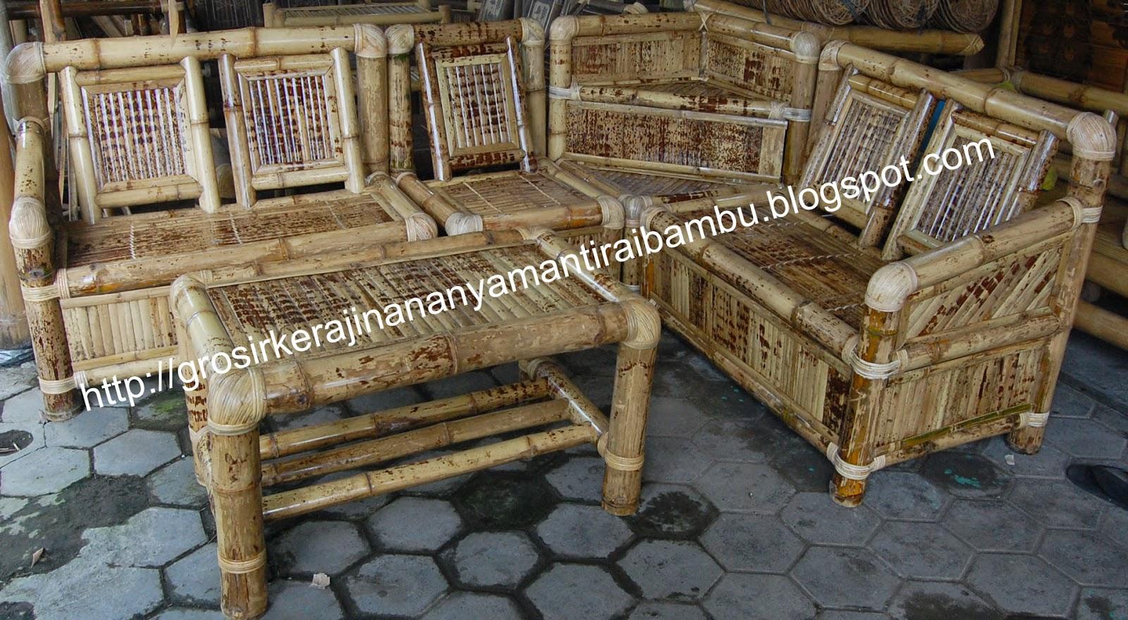Jual Furniture Bambu Murah Furniture Bambu Jogja Furniture