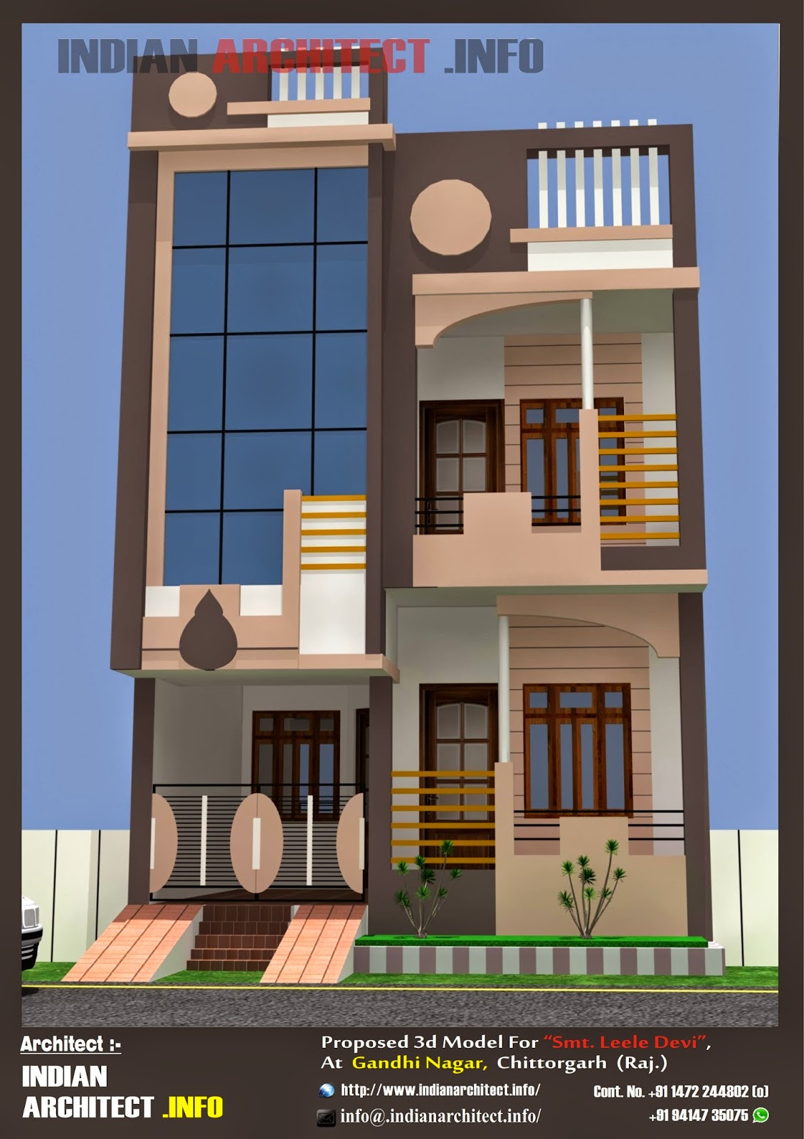 Smt. Leela Devi House 20' x 50' 1000 Sqft Floor Plan and ...