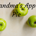 RECIPE// Grandma's Apple Pie