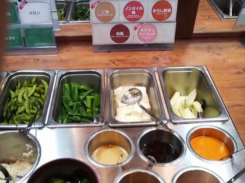 ビュッフェコーナー:サラダ3 ステーキガスト一宮尾西店2回目