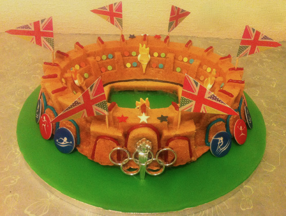 Olympic Stadium Bundt