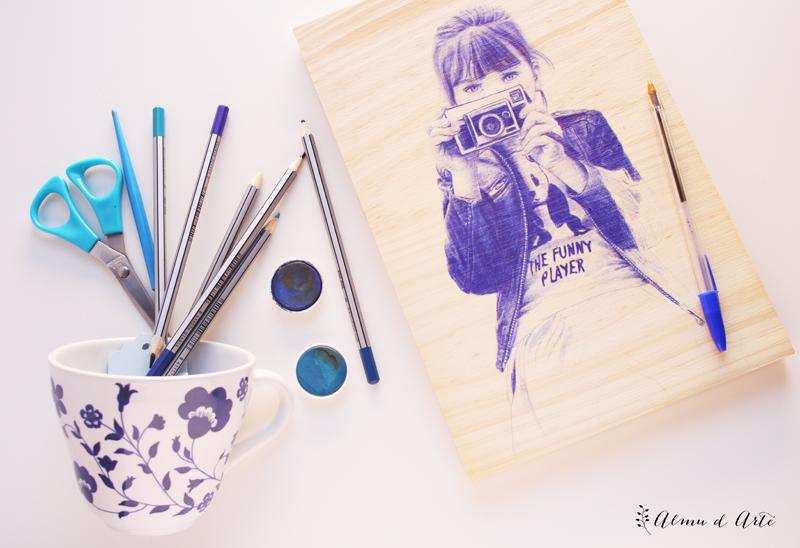 Dibujo con bolígrafo