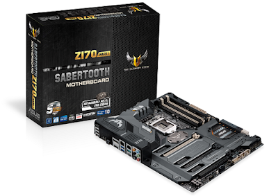 TUF Sabertooth Z170